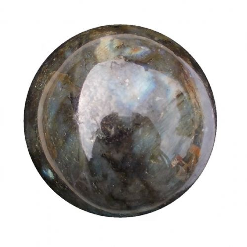 Labradorite Crystal Ball Scrying Divination Fortune Telling Sphere 58mm 280g LA13